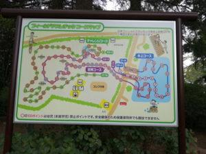 清水公園のアスレチックマップ