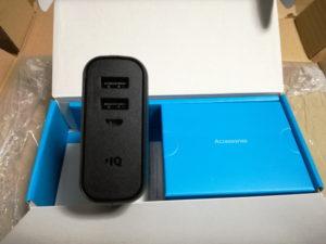 アンカーのモバイル充電器(PowerCoreFusion5000)