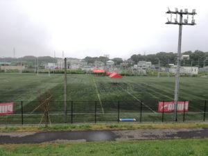 ジェイコム北市川スポーツパークの隣のアーセナルサッカースクール市川校