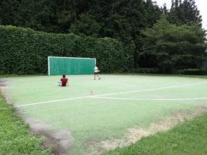 梓川ふるさと公園のフットサル場