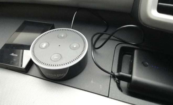 アマゾンエコードットを車内で聴くコツはプレイリスト!
