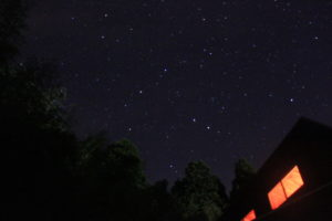 Weランドのケビンからの星空