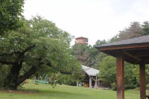 アルプス公園の展望台