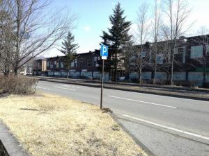 軽井沢アウトレットの無料駐車場