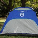 コールマンの日よけテント(スクリーンシェード)の利用で公園遊びの快適性がアップ!