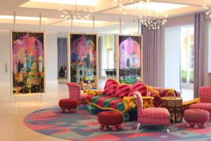 ディズニーセレブレーションホテル・ウィッシュのエントランス