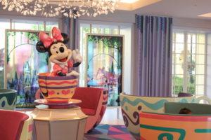ディズニーセレブレーションホテル・ウィッシュのミニーちゃん