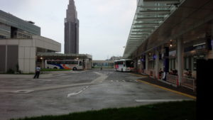 バスタ新宿のバスターミナル