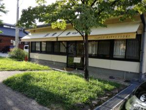 飛騨産業のカフェ