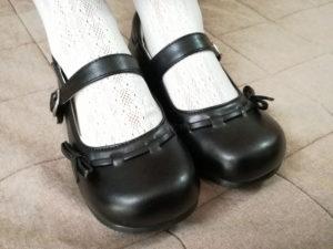 ピアノ発表会の靴