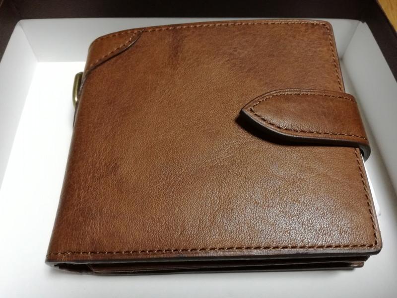 571f6f4bc800 土屋鞄製造所の二つ折りメンズ財布を本店で購入!   こどもとともに