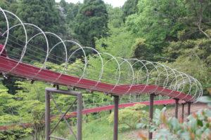 昭和の森のすべり台