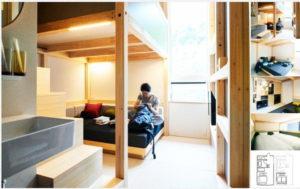 星野リゾートのBEB5軽井沢(べブ5軽井沢)ホテルのYAGURA(やぐら)
