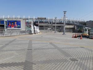 東京スタジアム(味の素スタジアム、味スタ)の入り口