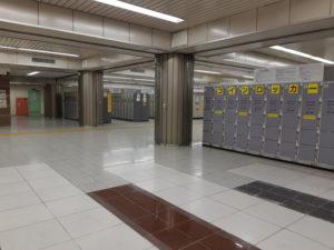 東京駅の穴場コインロッカー(中)