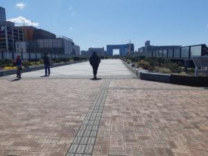 台場駅からシンボルプロムナード公園へのアクセス