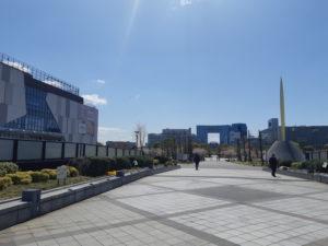 台場駅からダイバーシティ東京プラザ