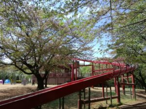 船橋アンデルセン公園の滑り台2