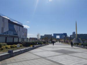 台場駅から青海アーバンスポーツパークまでのアクセス(ダイバーシティ東京プラザ)